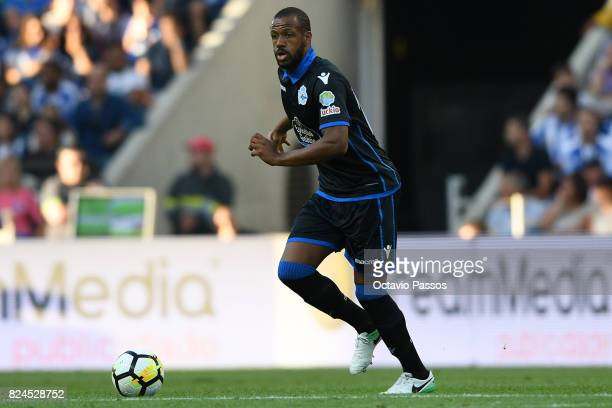 Sidnei of RC Deportivo La Coruna during the PreSeason Friendly match between FC Porto and RC Deportivo La Coruna at Estadio do Dragao on July 30 2017...