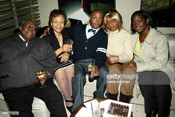 Sidney Black Kertia Black Kareem Black Janice Combs and Keisha Combs attend JAZZ DIET PEPSI presents The Lovely Ladies of Jazz at The W Times Square...