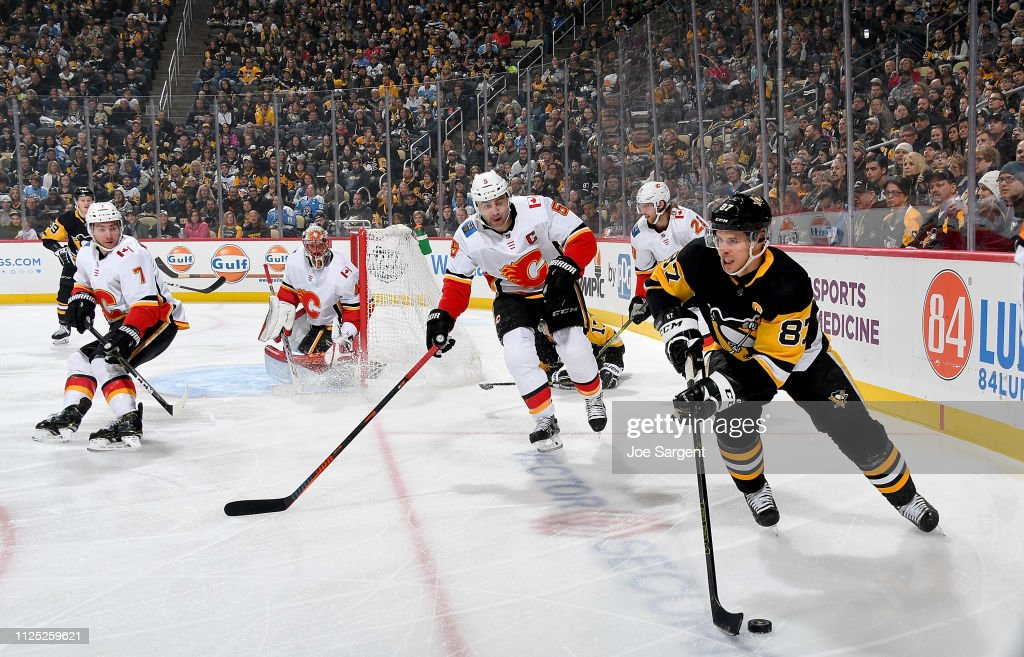 PA: Calgary Flames v Pittsburgh Penguins