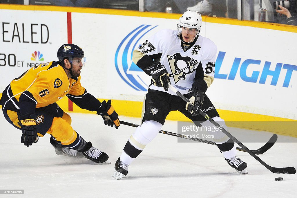 Pittsburgh Penguins v Nashville Predators : News Photo