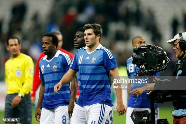 Sidney GOVOU / Andre Pierre GIGNAC France / Autriche Eliminatoires Coupe du Monde 2010 Stade de France Paris