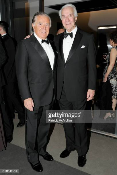Sidney Kimmel and Ed Snider attend National Museum of American Jewish History Grand Opening Gala at Market Street 5th on November 13 2010 in...