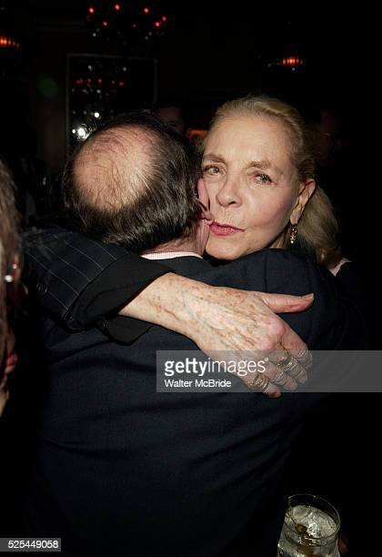 Sidney Lumet and Lauren BacallAttending a New York celebration in anticipation of director Sidney Lumet's Honorary Academy Award which will be...