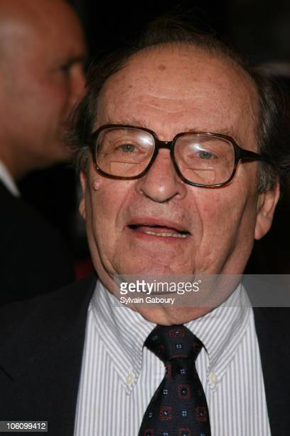 Sidney Lumet during Broadway opening night of 'Well' at Longacre Theater in New York NY United States