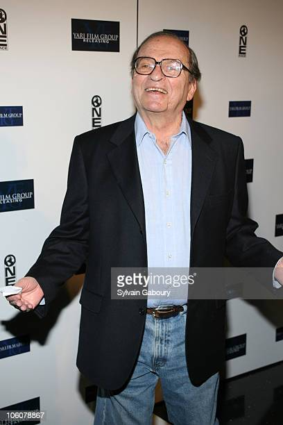 Sidney Lumet during 'Find Me Guilty' New York Premiere Inside Arrivals at Sony Lincoln Square Theater in New York New York United States