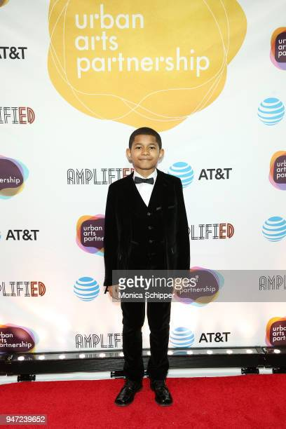Sidney Max Titus attends the Urban Arts Partnership's AmplifiED Gala at The Ziegfeld Ballroom on April 16 2018 in New York City