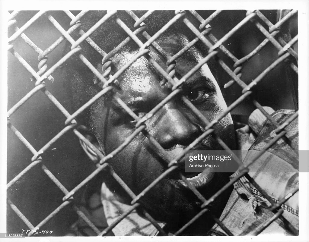 Sidney Poitier In 'Edge Of The City' : News Photo