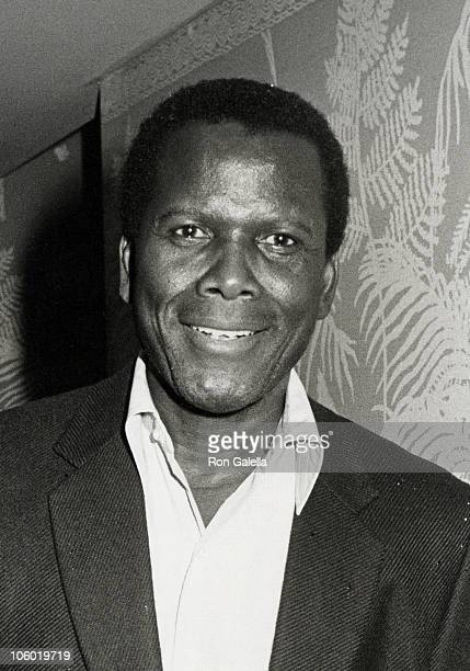 Sidney Poitier during NAACP Honors Louis Gossett Jr at Westwood Marquis Hotel in Westwood California United States