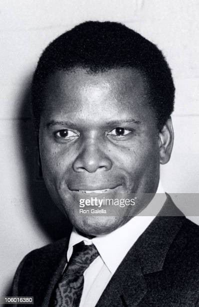 Sidney Poitier during Sidney Poitier Attends Philharmonic Hall Concert February 18 1967 at Lincoln Center in New York City New York United States