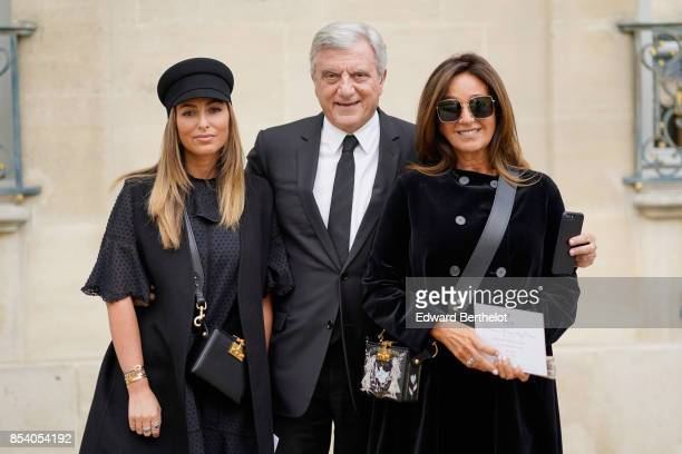 Sidney Toledano and Katia Toledano attend the Christian Dior show as part of the Paris Fashion Week Womenswear Spring/Summer 2018 on September 26...