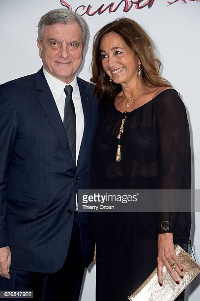 Sidney Toledano and Katia Toledano attend the diner 'sauver la vie' Eric Pfrunder Hosts 'Sauver La Vie' Diner for Paris Descartes Fondation at...