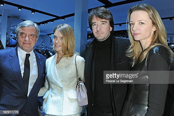 Sidney Toledano Natalia Vodianova Antoine Arnault and Delphine Arnault attend the Christian Dior Fall/Winter 2013 ReadytoWear show as part of Paris...