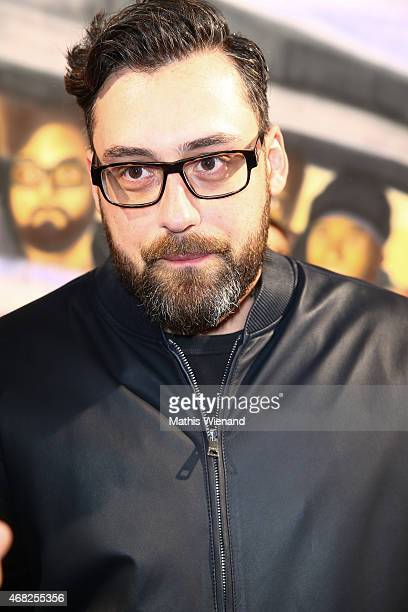 Sido attends the German premiere of the film 'Halbe Brueder' at Cinedome Mediapark on March 31 2015 in Cologne Germany