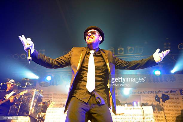 Sido performs on stage at the Live Music Hall on December 09 2009 in Cologne Germany