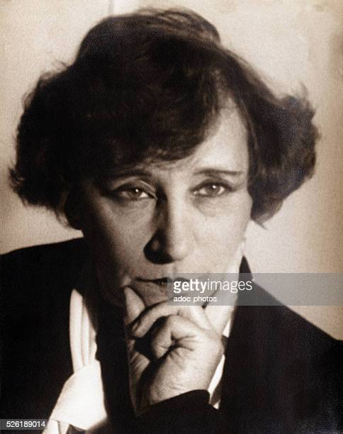 Sidonie Gabrielle Colette called Colette French writer born in SaintSauveurenPuisaye Ca 1935