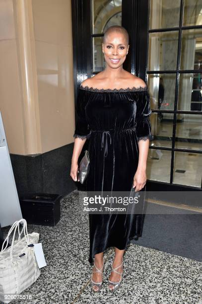 Sidra Smith attends the 2018 Essence Black Women In Hollywood Oscars Luncheon at Regent Beverly Wilshire Hotel on March 1 2018 in Beverly Hills...