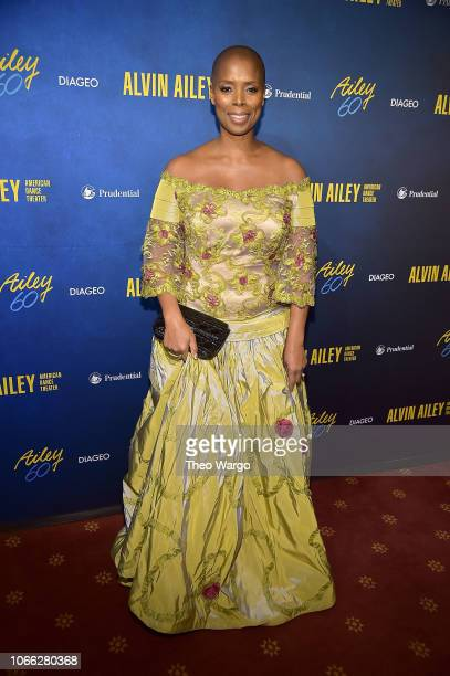 Sidra Smith attends the Alvin Ailey American Dance Theater's 60th Anniversary Opening Night Gala Benefit at New York City Center on November 28 2018...