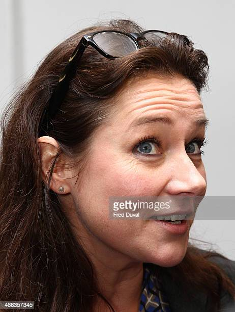Sidse Babett Knudsen attends Nordicana 2014 at Old Truman Brewery on February 1 2014 in London England