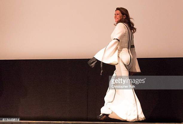 Sidse Babett Knudsen attends the INFERNO World Premiere Red Carpet at the Opera di Firenze on October 8 2016 in Florence Italy
