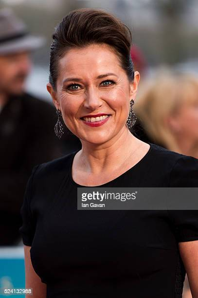 Sidse Babett Knudsen attends the UK premiere of 'A Hologram For The King' at BFI Southbank on April 25 2016 in London England