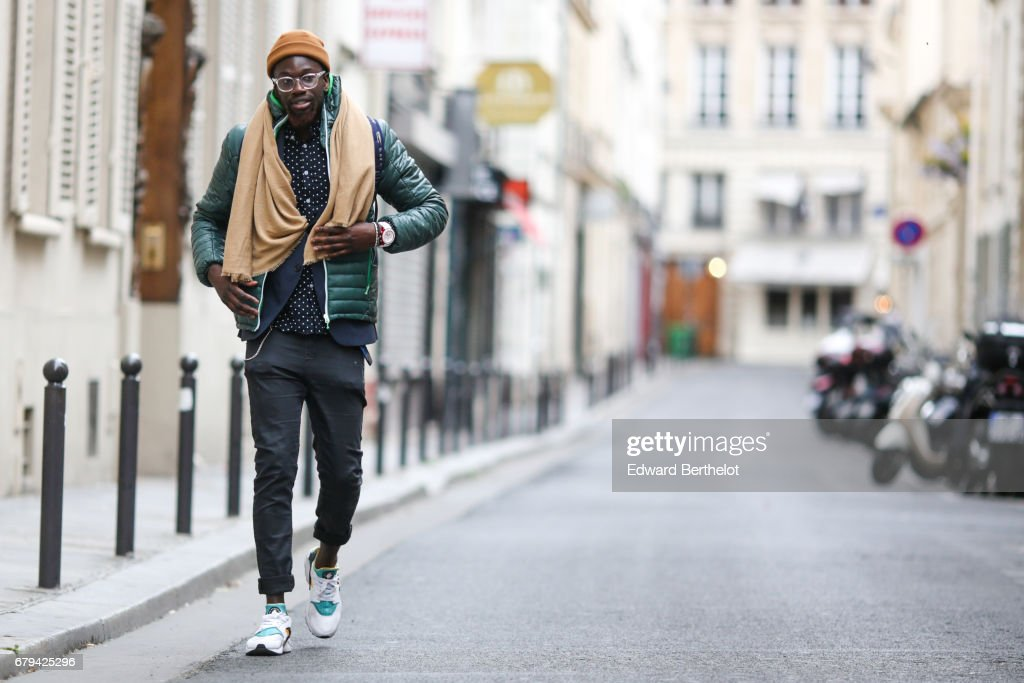 sports shoes ba5c9 da62b Sidya Sarr wears an Asos beanie hat, Cheapmonday pants, Nike ...