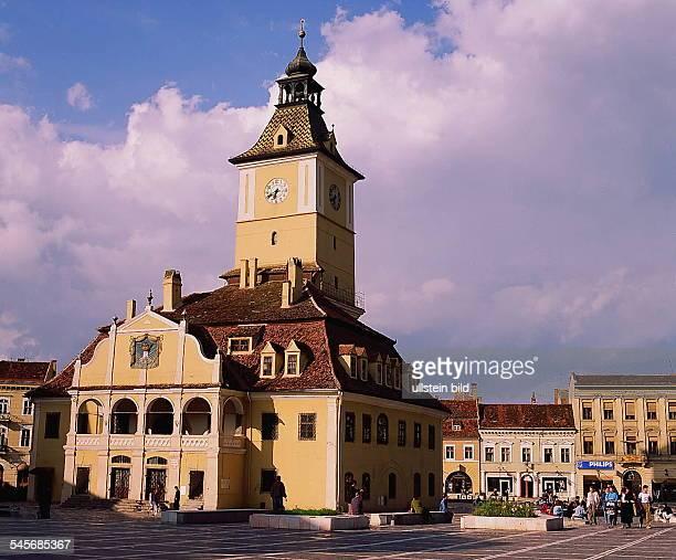 das Alte Rathaus in Brasov 1994