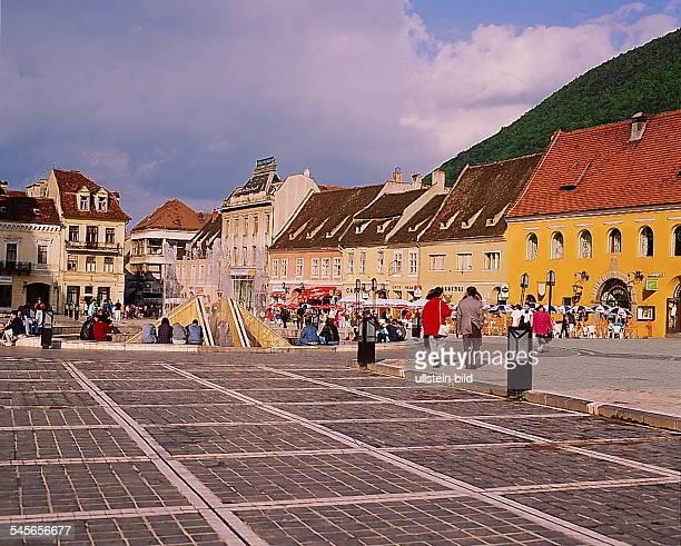 Marktplatz in Brasov 1994