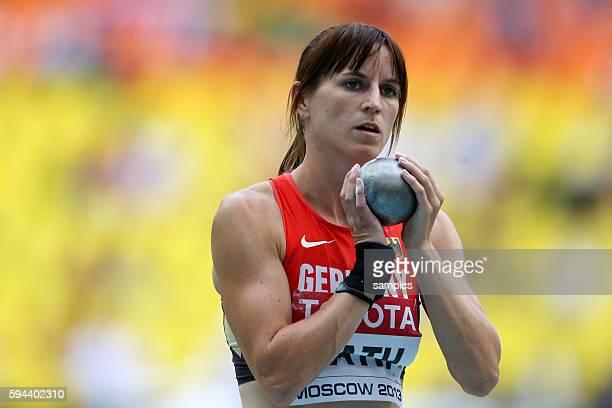 Siebenkampf Hepathlon Claudia Rath GER Leichtathletik WM Weltmeisterschaft Moskau 2013 IAAF World Championships athletics moscow 2013 russia track...