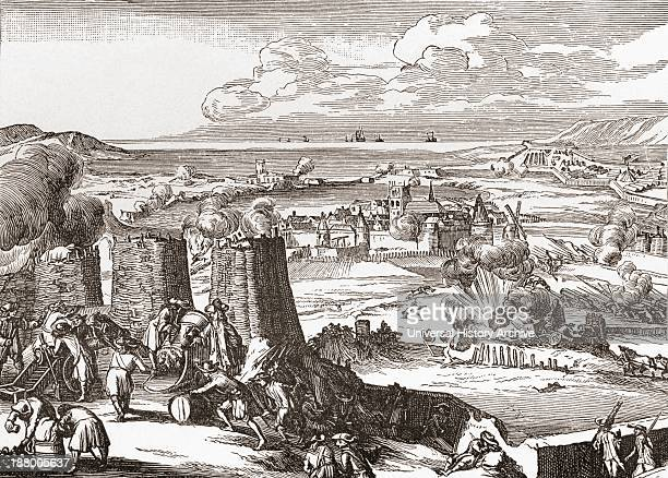 Siege Of Derry Ireland 1689 From The Book Short History Of The English People By JR Green Published London 1893
