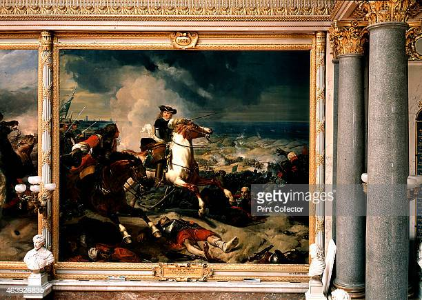'Siege of Dunkirk' France 14 June 1658 Depiction of the Battle of the Dunes an engagement in the FrancoSpanish War won by an AngloFrench army under...