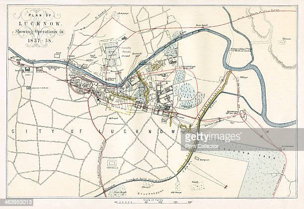 Siege of Lucknow India In 1857 Lucknow the capital of the state of Oudh was the scene of a historic defence by the British during the Sepoy Mutiny...