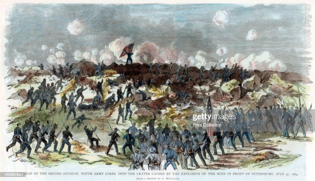 Siege of petersburg, Civil war, Civil war photography