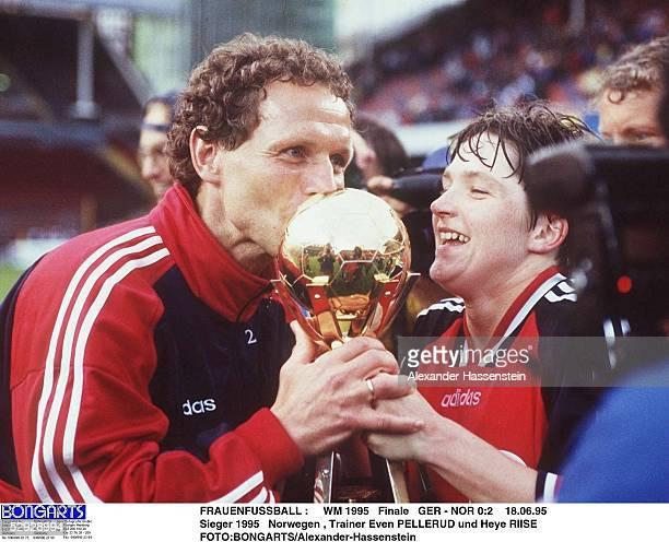 2 180695 Sieger 1995 Norwegen Trainer Even PELLERUD und Heye RIISE