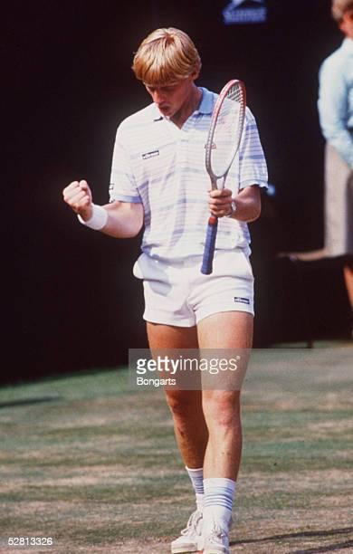 TENNIS WIMBLEDON 1985 070785 Sieger Boris BECKER/GER