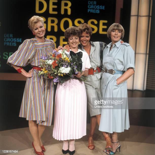 PRILL Siegerin HELGA REIß SILVIA BRETSCHNEIDER BEATE HOPF Sendung vom 1171985 eM