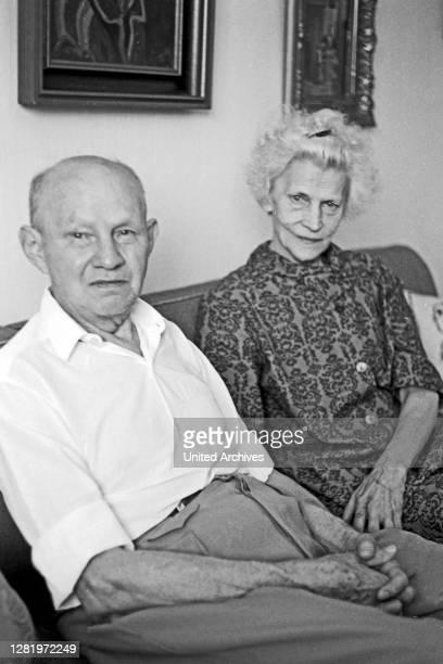 Siegert family in their living room, 1969.