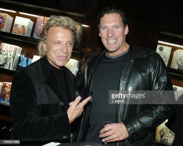 Siegfried Fischbacher and Ralf Moeller during Taschen Books Takes Los Angeles at Tascchen Book Store in Beverly Hills California United States