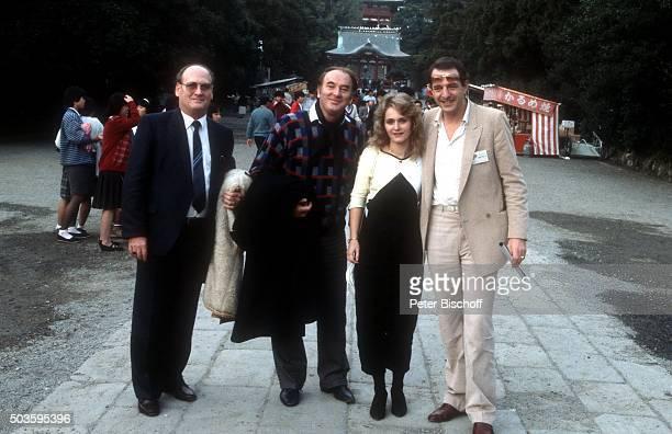 Siegfried Hohloch Robert Jung Nicole Ralph Siegel am Rande vom Internationalen Liederfestival am in Tokio Japan