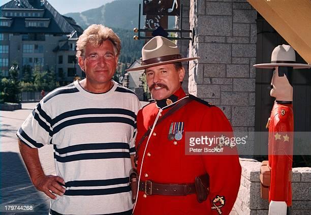 "Siegfried Jerusalem, Chef der ""Royal;Canadian Mounted Police"", ZDF-Musikshow ""Lustige Musikanten on Tour"", Whistler, Whistler-Blackcomb, Kanada,..."