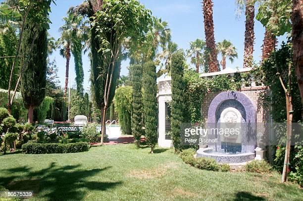 Siegfried Roy Homestory Dschungel Palast Las Vegas/Nevada/USA mexikanischer Stil Kreuz offene Eßhalle Dach