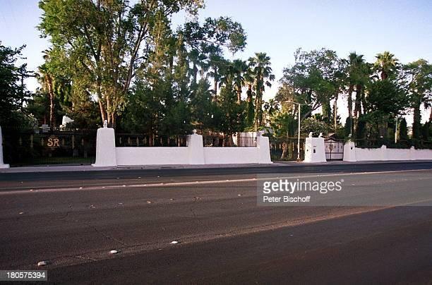 Siegfried Roy Homestory Dschungel Palast/Las Vegas/Nevada/USA Eingänge von der Straße Gelände insgesammt 5 ha