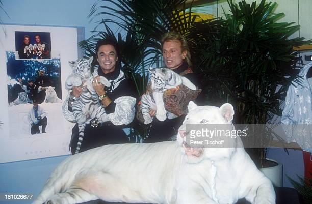 Siegfried Roy Homestory Las Vegas/Nevada/USA Suite im Hotel The Mirage TierTiere Tiger Künstlernamen Siegfried Fischbacher Roy Uwe Ludwig Horn Magier...