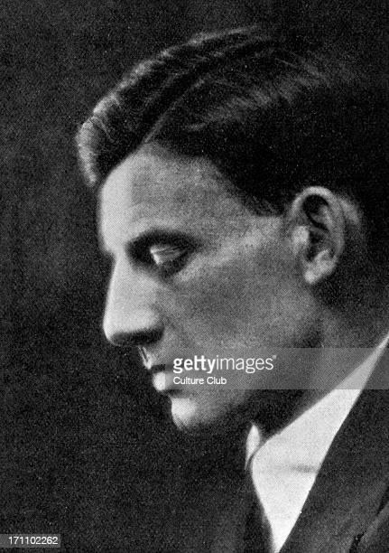 Siegfried Sassoon - portrait of the English writer and poet. 8 September 1886 - 1 September 1967.