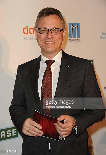 Siegfried Schneider attends the CNN Journalist Award 2012 at the GOP Variete Theater on March 27, 2012 in Munich, Germany.