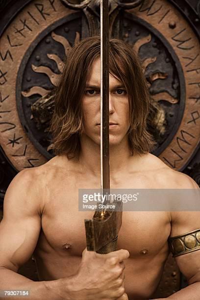 Siegfried with sword
