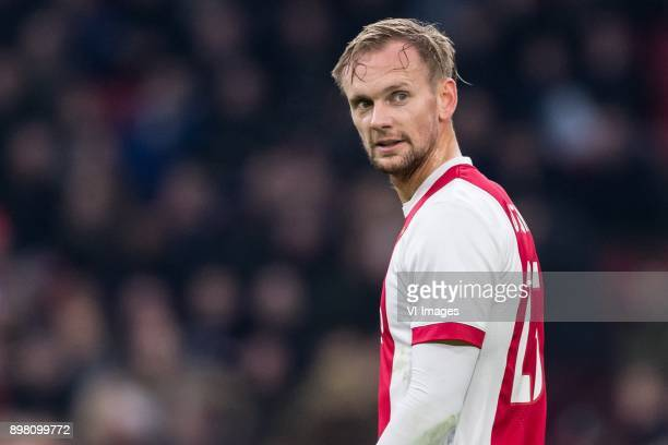 Siem de Jong of Ajax during the Dutch Eredivisie match between Ajax Amsterdam and Willem II Tilburg at the Amsterdam Arena on December 24 2017 in...