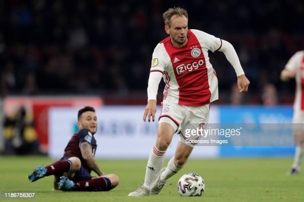 Siem de Jong of Ajax during the Dutch Eredivisie match between Ajax v Willem II at the Johan Cruijff Arena on December 6, 2019 in Amsterdam...