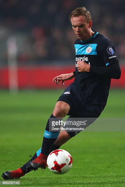 Siem de Jong of PSV in action during the Eredivisie match between Ajax Amsterdam and PSV Eindhoven held at Amsterdam Arena on December 18 2016 in...