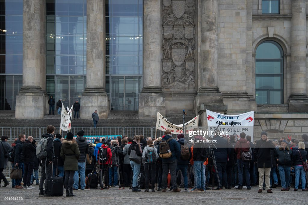 demonstration against job cuts at siemens pictures getty images