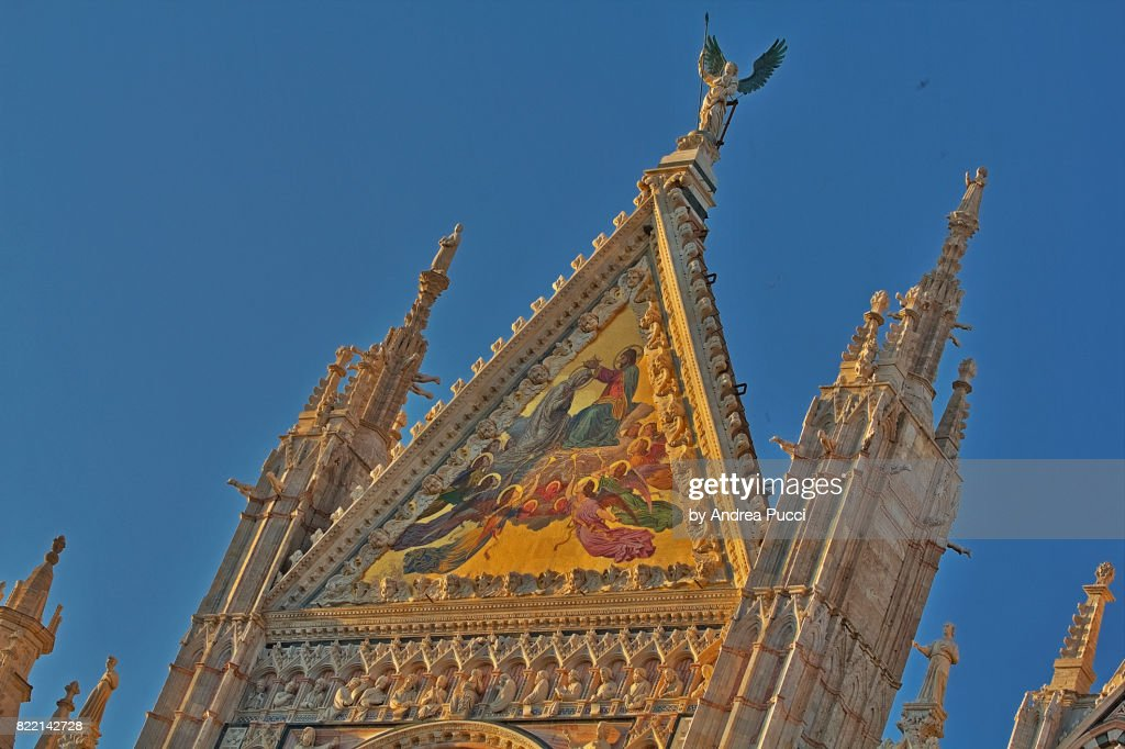 Siena Cathedral, Siena, Tuscany, Italy : Stock Photo